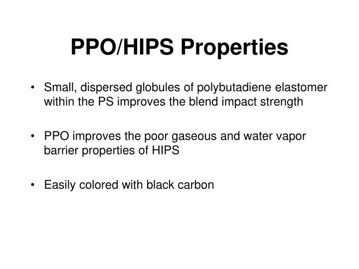 PPO/HIPS Properties