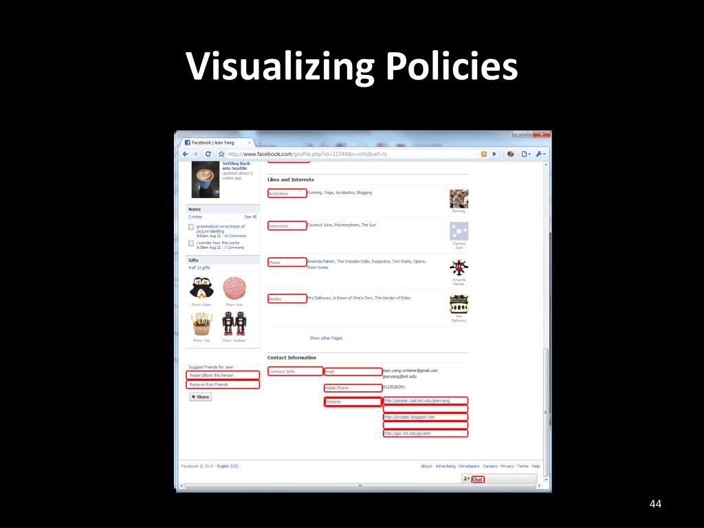 Visualizing Policies