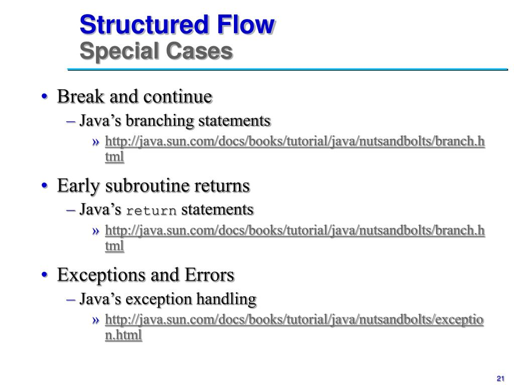 Structured Flow
