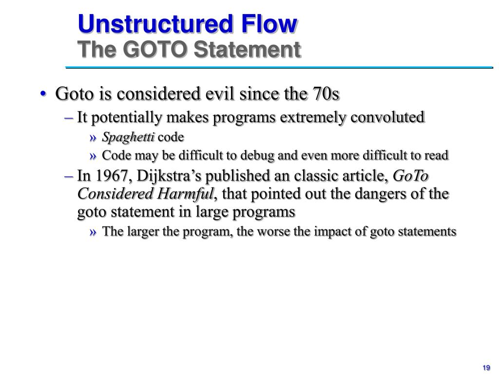 Unstructured Flow