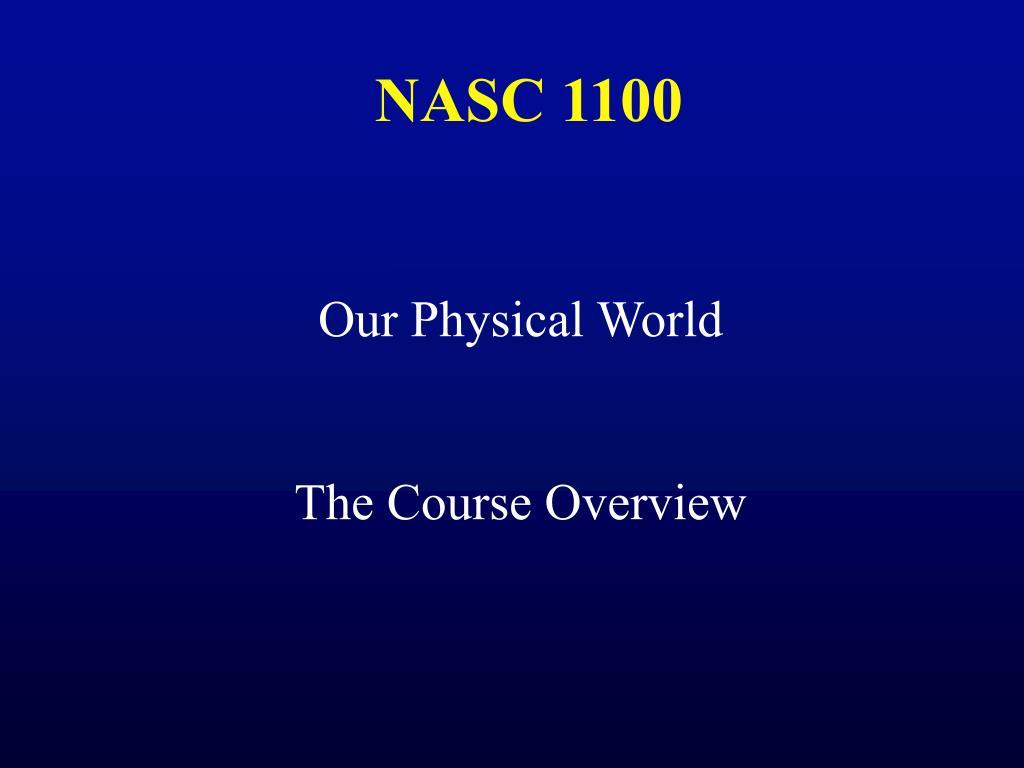 NASC 1100
