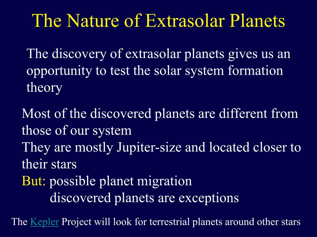 The Nature of Extrasolar Planets