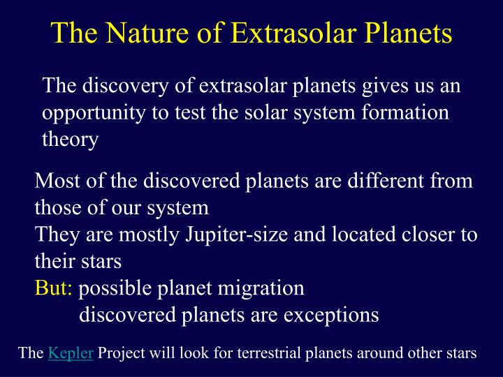 The nature of extrasolar planets l.jpg