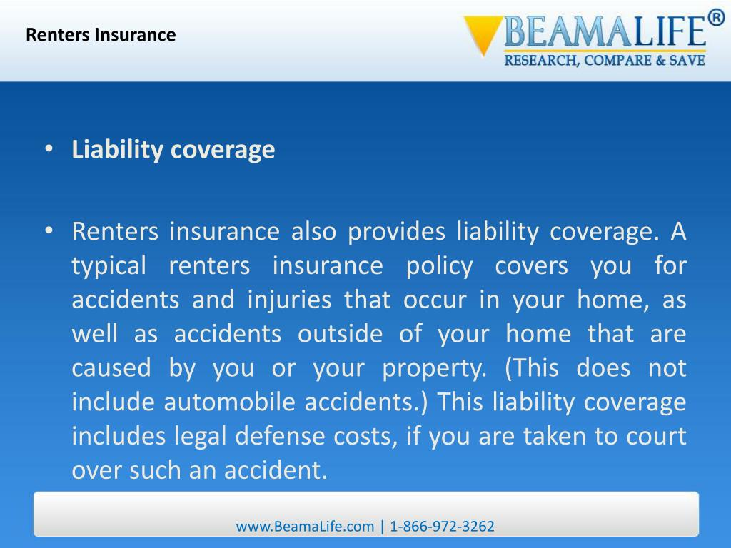 PPT - Renters Insurance PowerPoint Presentation - ID:31751
