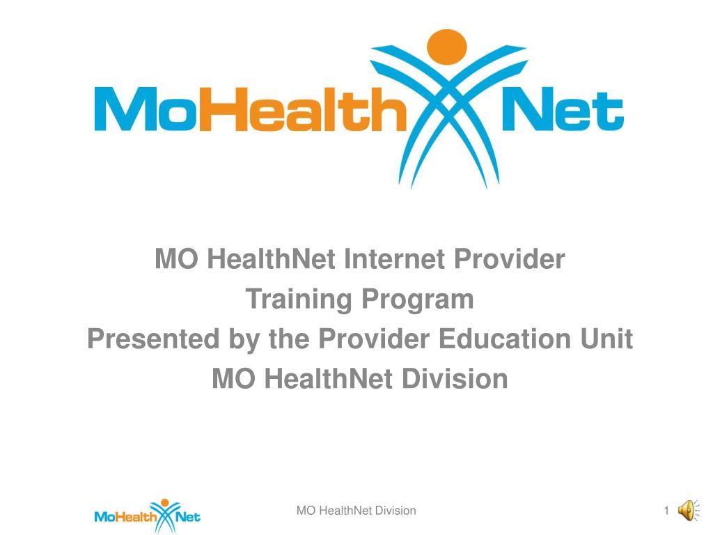 MO HealthNet Internet Provider