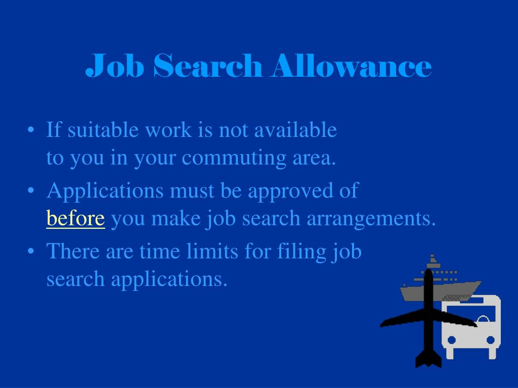 Job Search Allowance