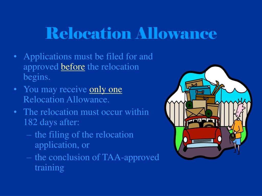 Relocation Allowance