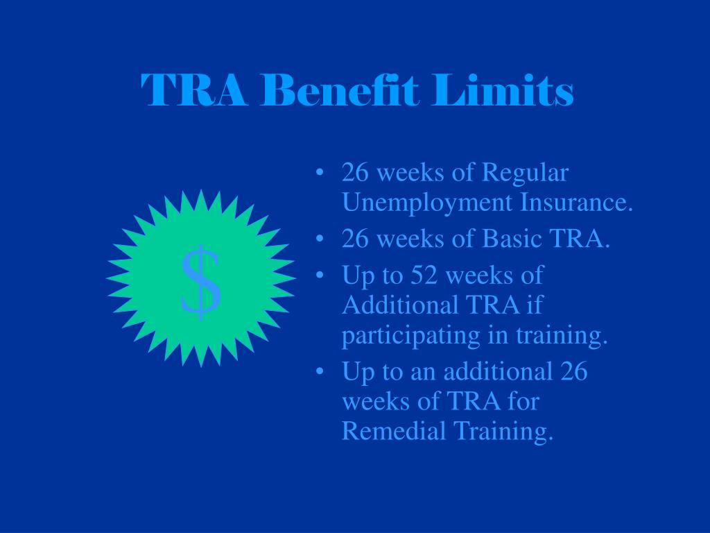 TRA Benefit Limits