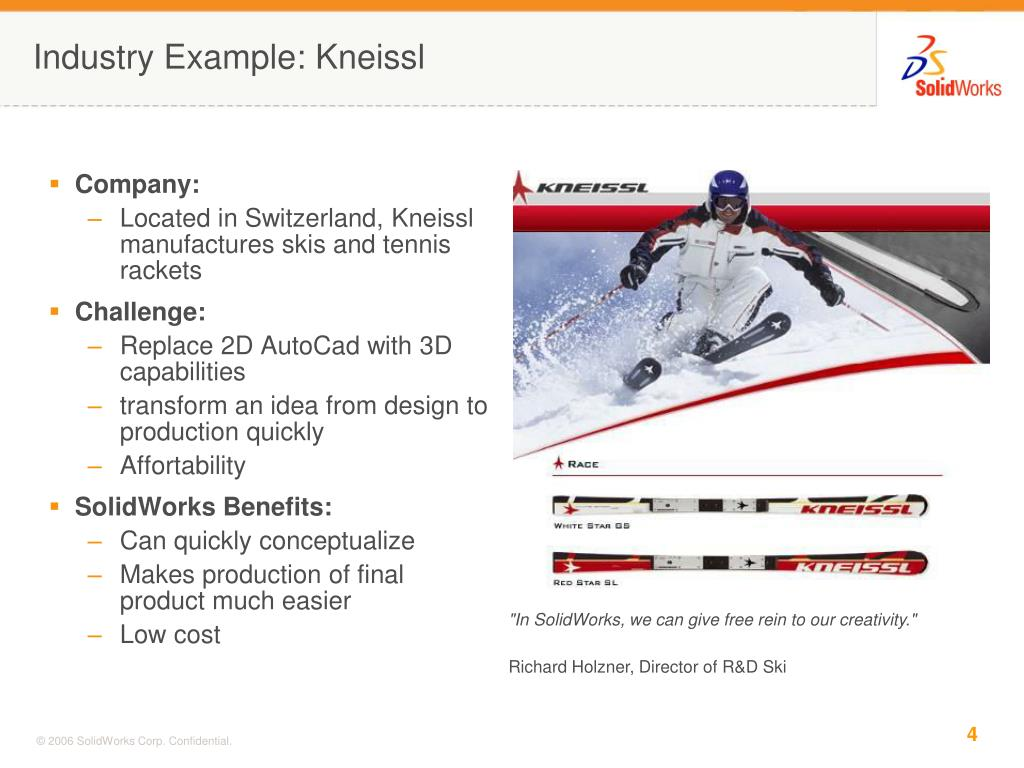Industry Example: Kneissl