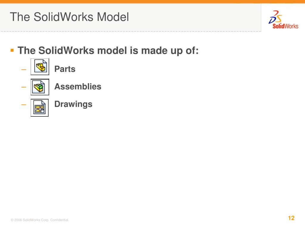 The SolidWorks Model