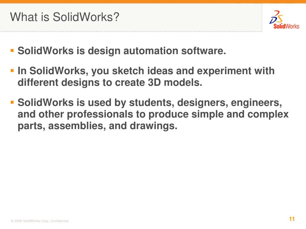 What is SolidWorks?