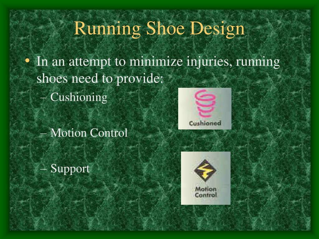 Running Shoe Design