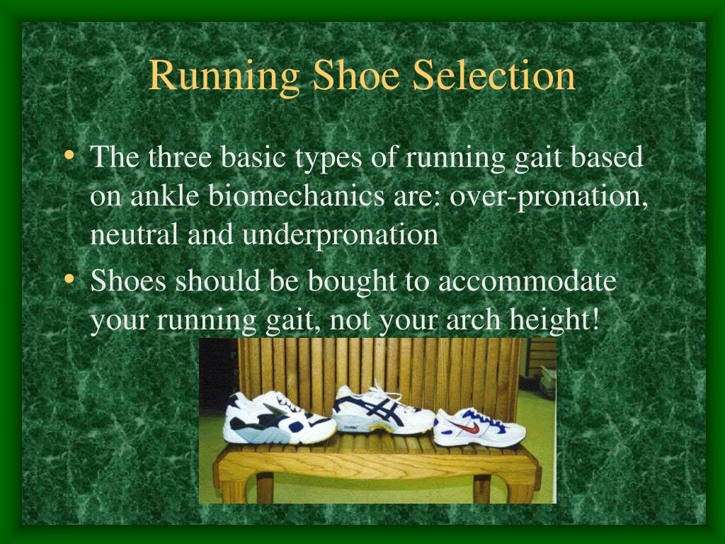 Running Shoe Selection