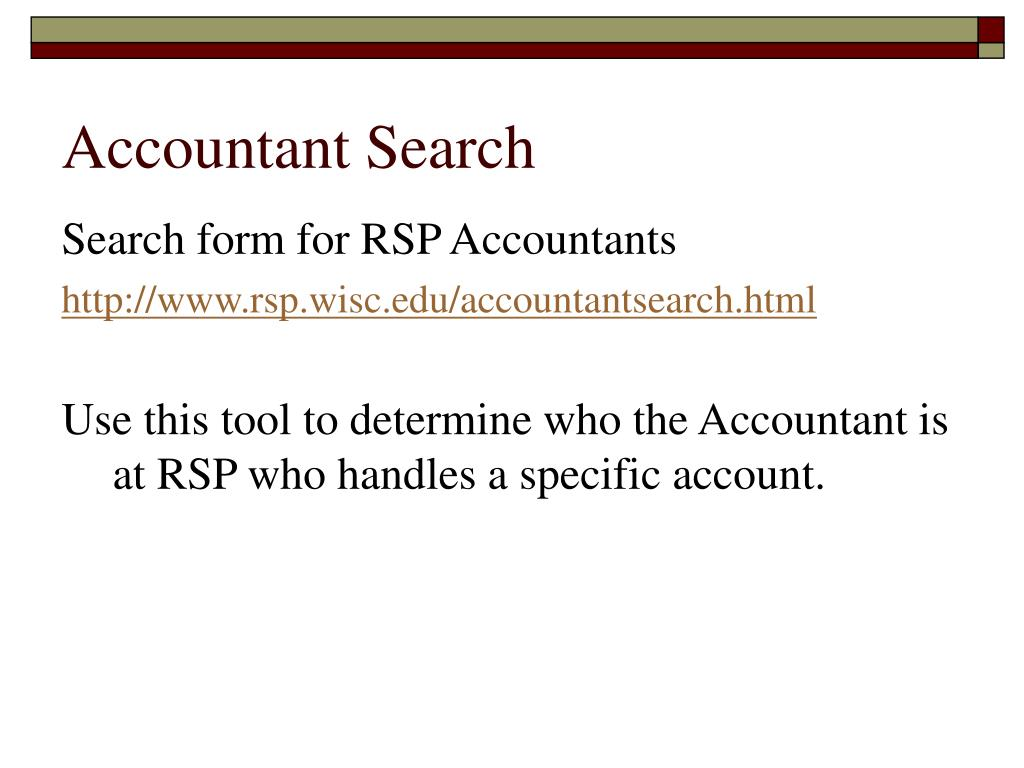 Accountant Search