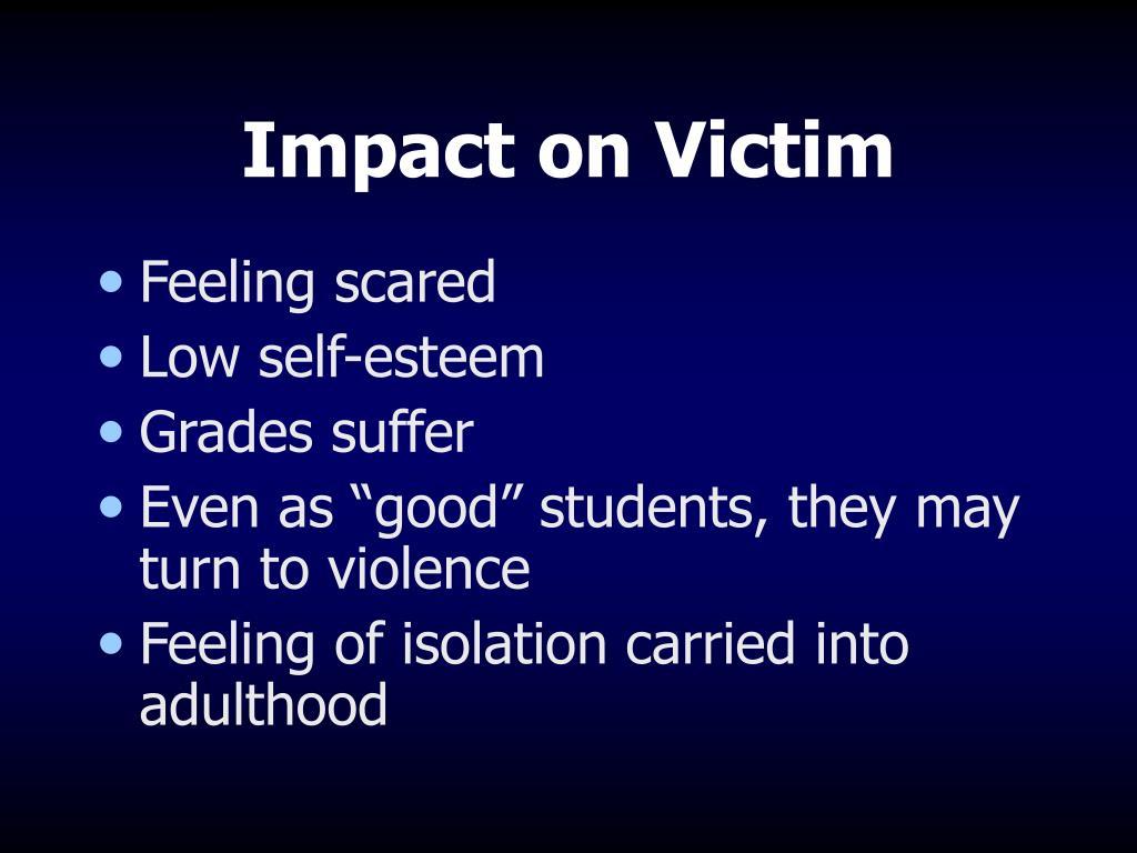 Impact on Victim