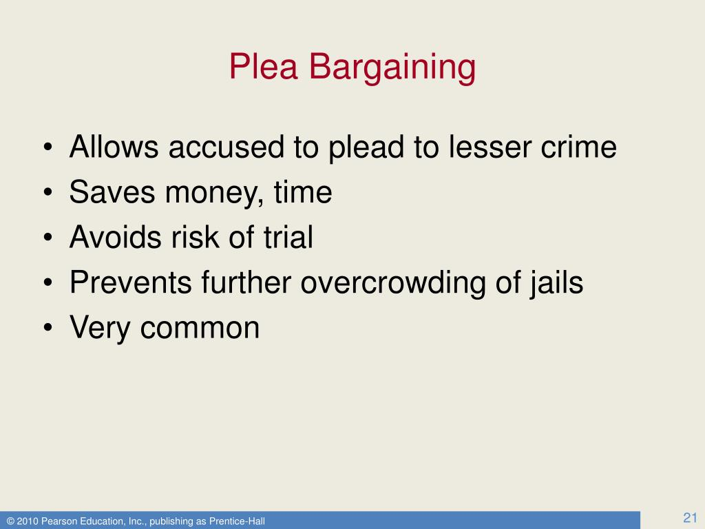 """an argument in favor of the importance of plea bargaining in criminal trials """"a preliminary study of how plea bargaining decisions by prosecution and evidence affect plea bargaining defendant in at least 77,000 criminal trials."""
