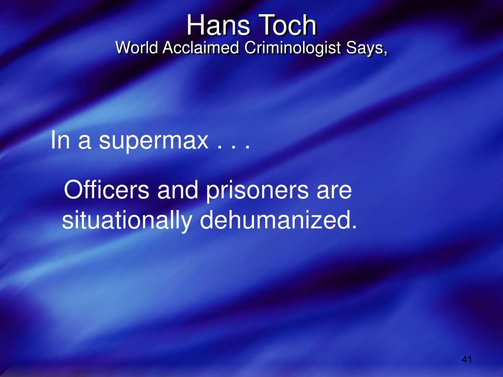 Hans Toch