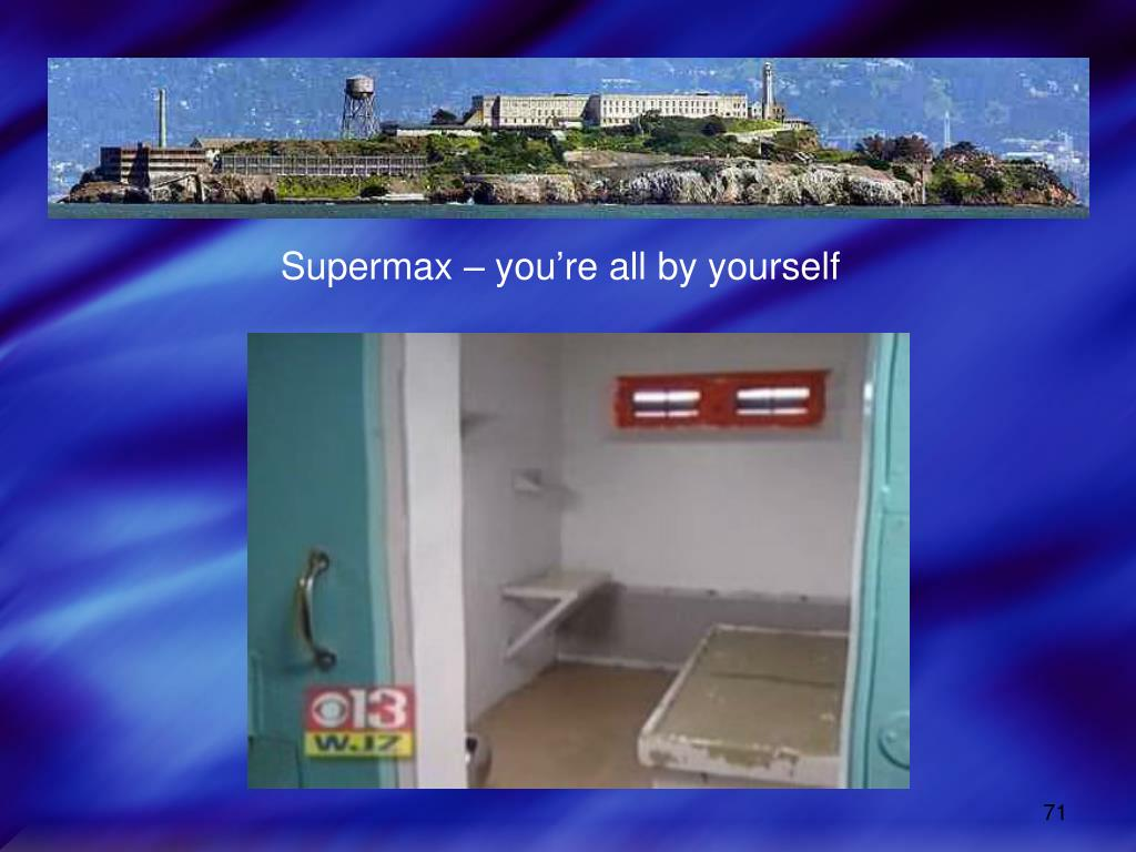 Supermax – you're all by yourself