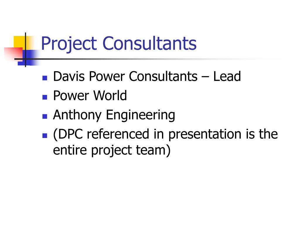 Project Consultants