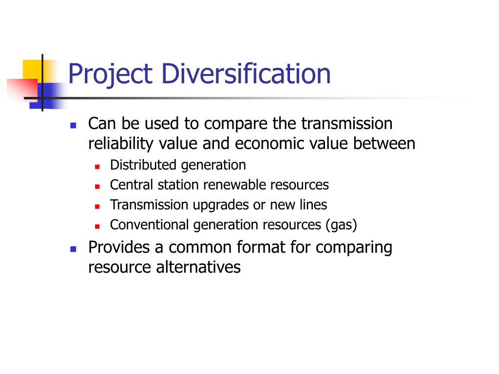 Project Diversification