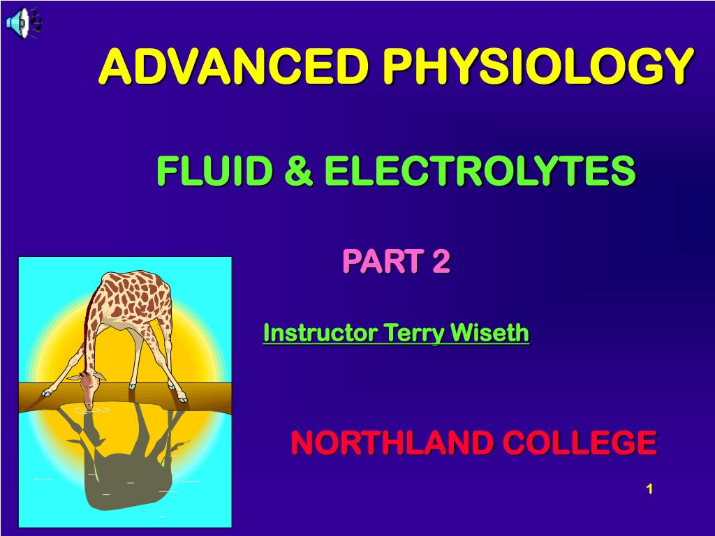 ADVANCED PHYSIOLOGY