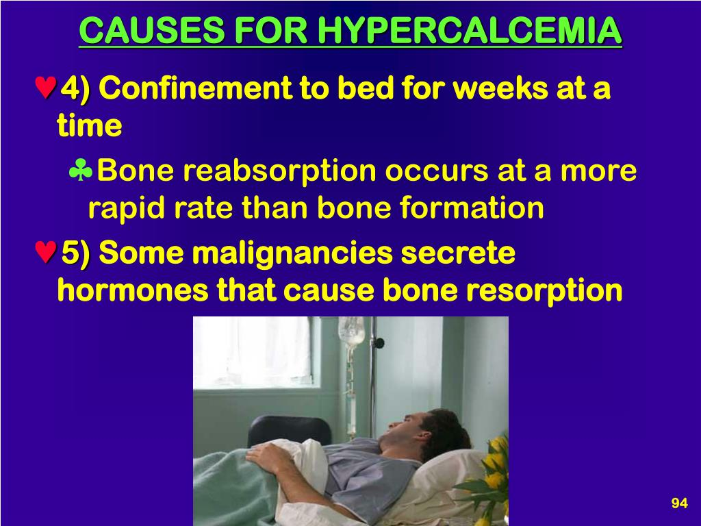 CAUSES FOR HYPERCALCEMIA