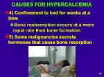 causes for hypercalcemia94