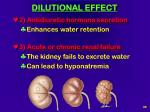 dilutional effect36
