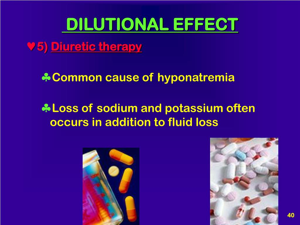 DILUTIONAL EFFECT