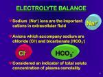 electrolyte balance7