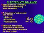 electrolyte balance8