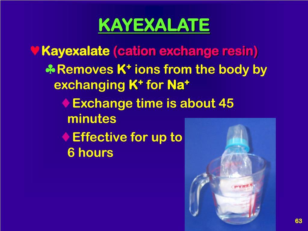 KAYEXALATE