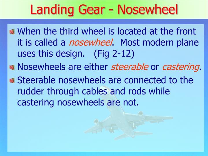 Landing Gear - Nosewheel
