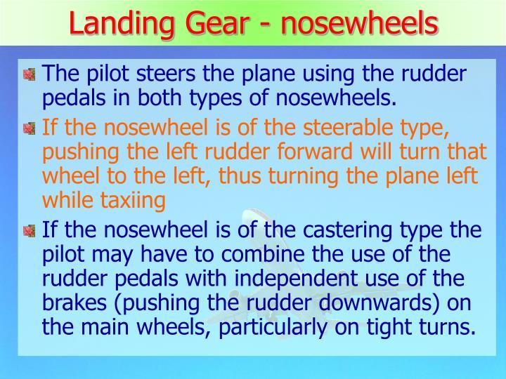 Landing Gear - nosewheels