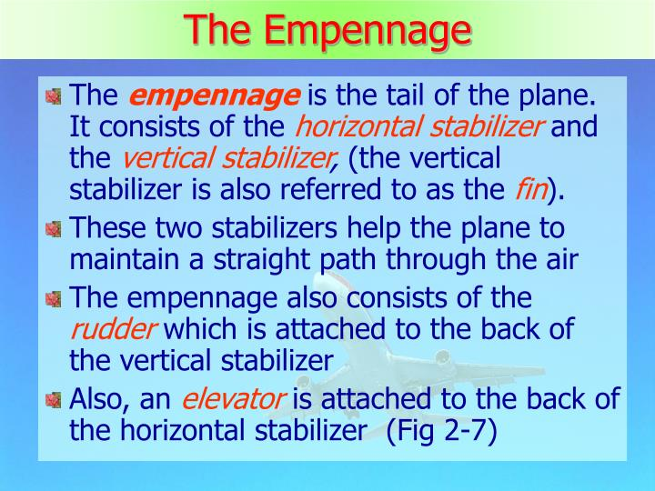 The Empennage