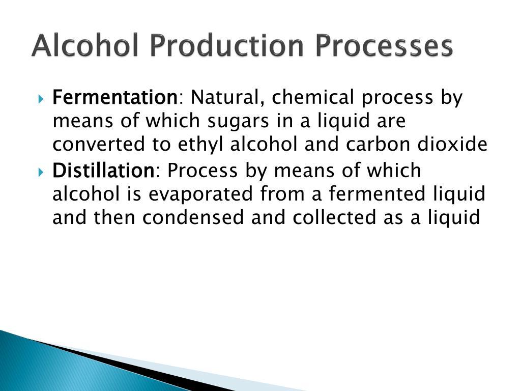 Alcohol Production Processes