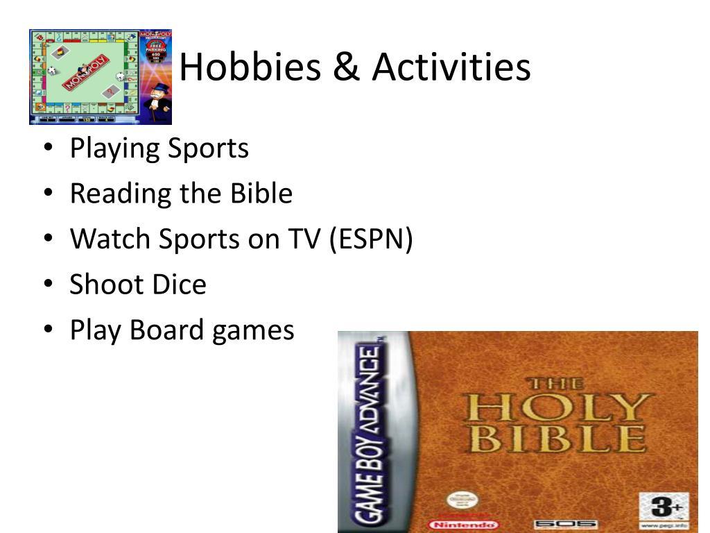 Hobbies & Activities