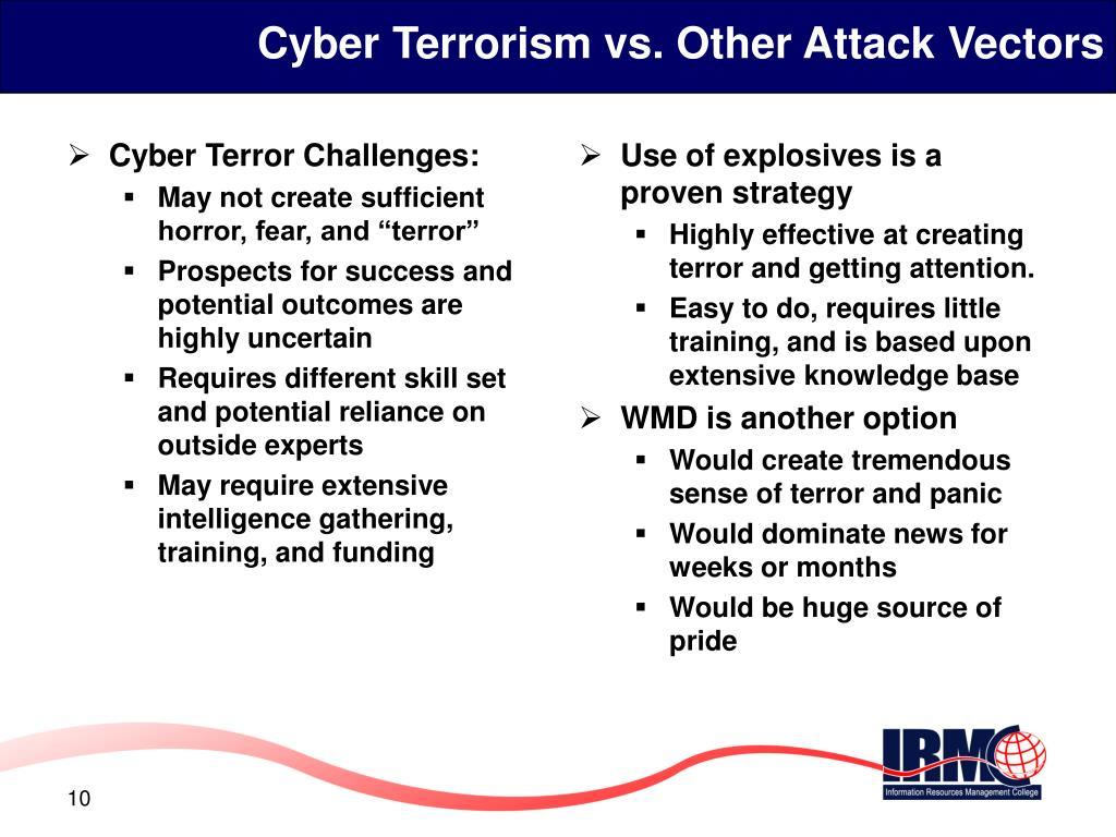 Cyber Terror Challenges: