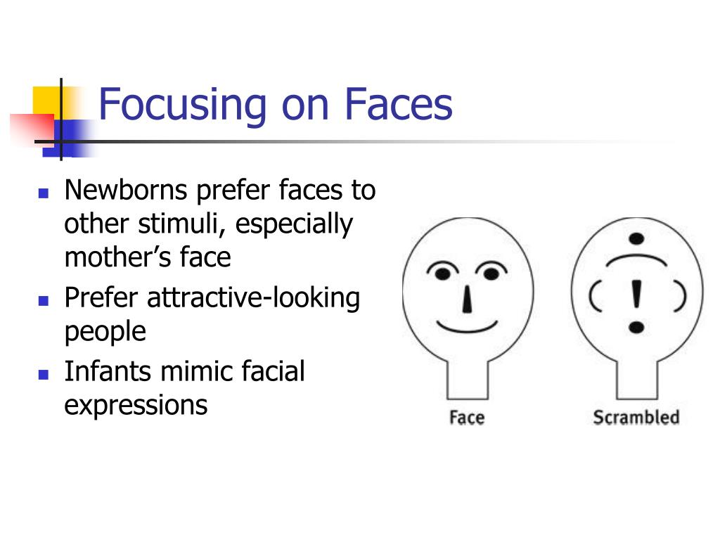 A discussion on babies ability to mimic facial expressions
