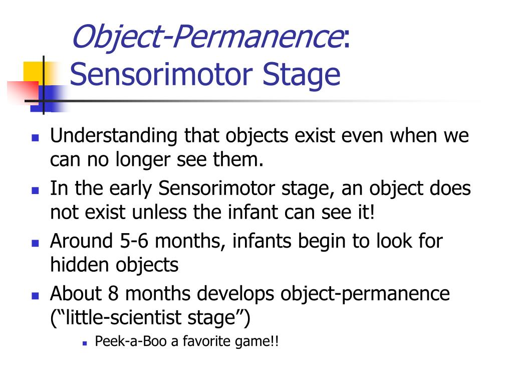 Object-Permanence