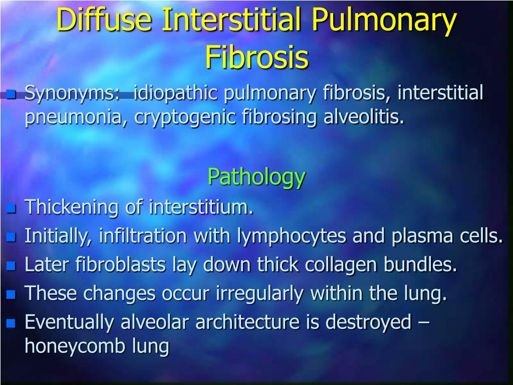 Diffuse Interstitial Pulmonary Fibrosis