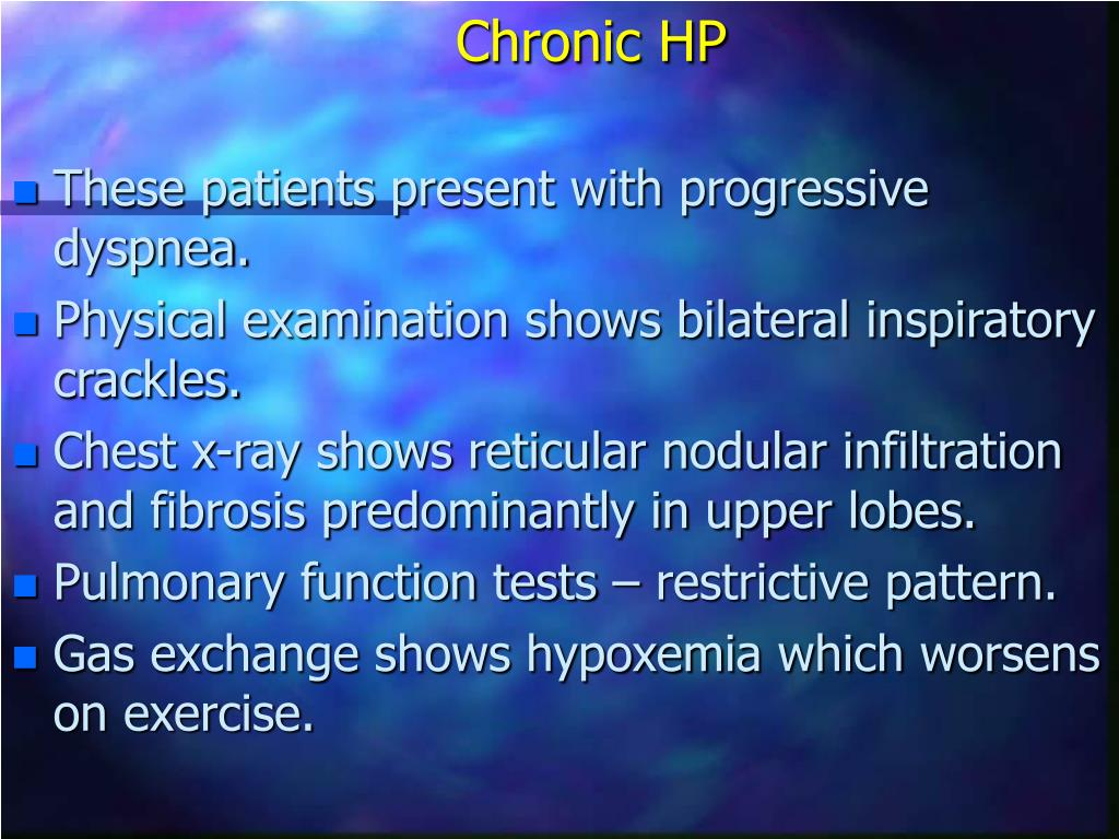 Chronic HP