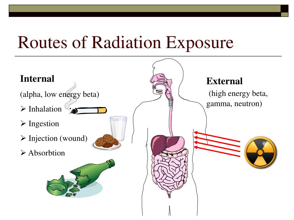 Routes of Radiation Exposure