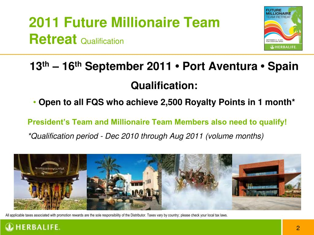 2011 Future Millionaire Team