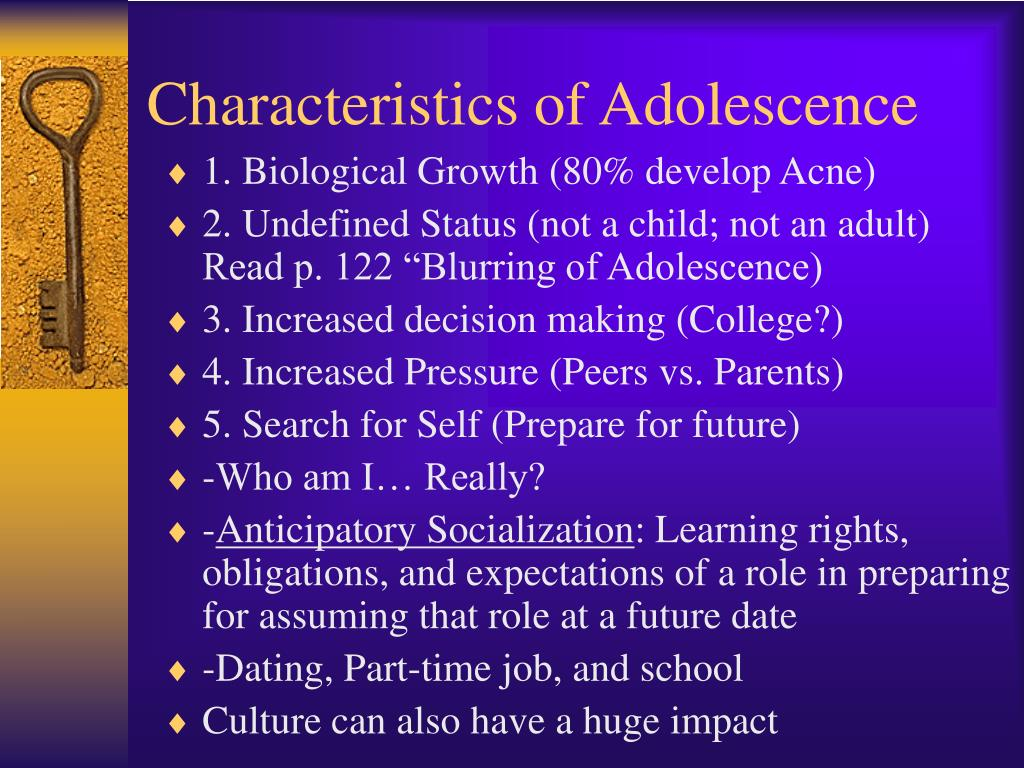 the physical characteristics and developmental profile of adolescents Pdf | i adolescence: a development concept often categorized with teenagers, youth, young people and young adults are adolescents who form a distinct population group due to their that females were quite aware of the physical, emotional and mental transformation that they.