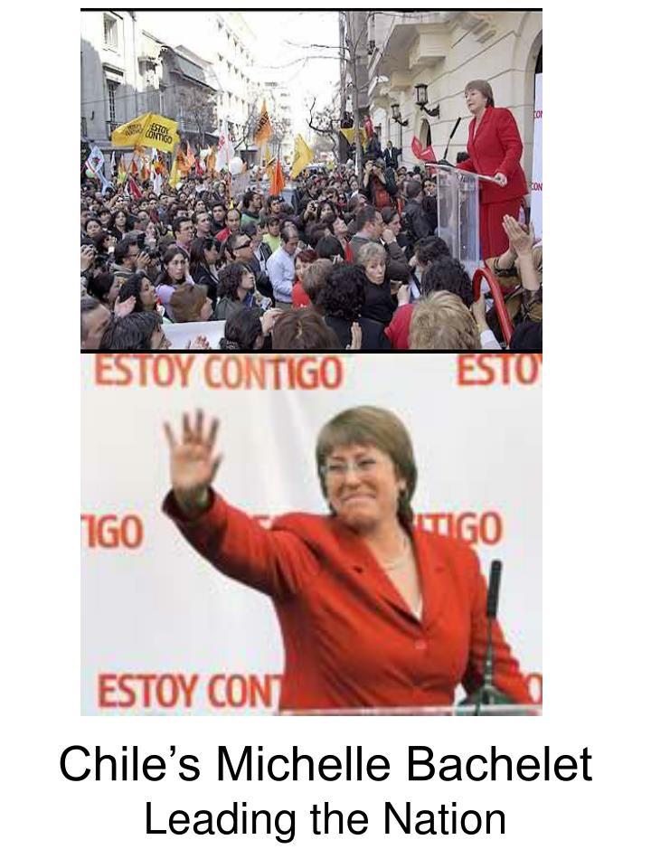 Chile's Michelle Bachelet