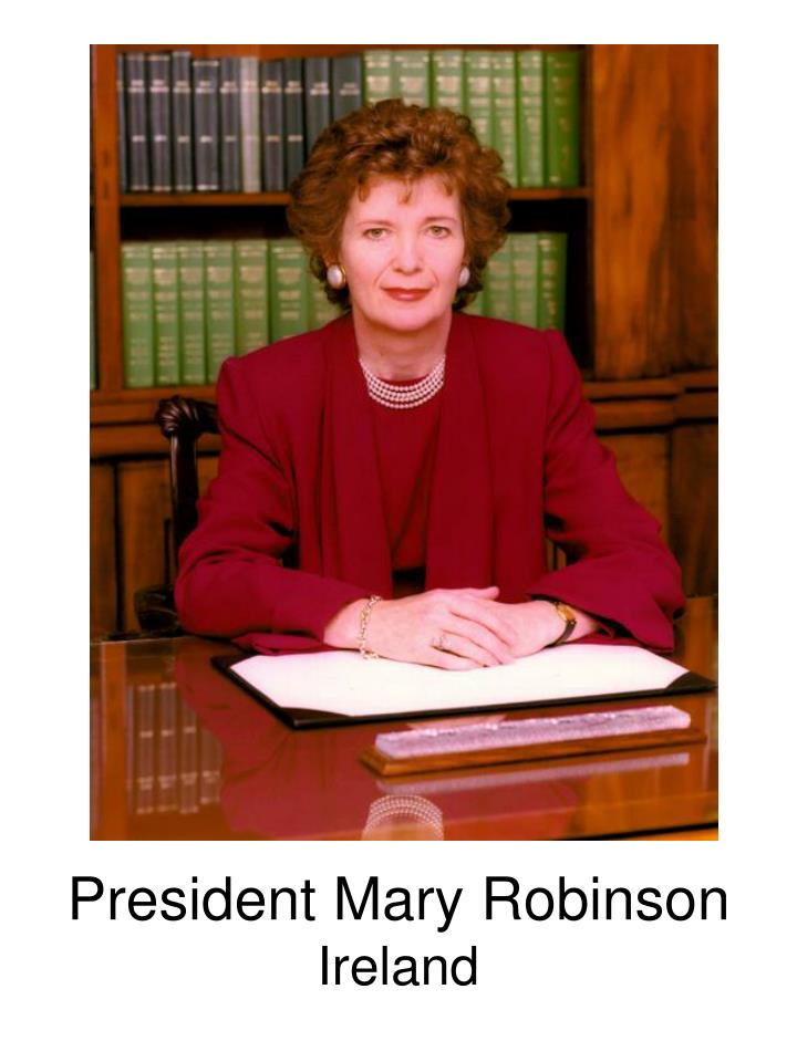 President Mary Robinson