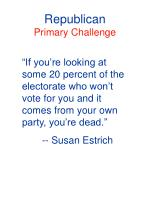 republican primary challenge