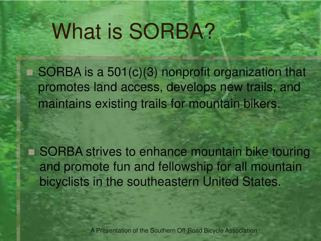 What is SORBA?