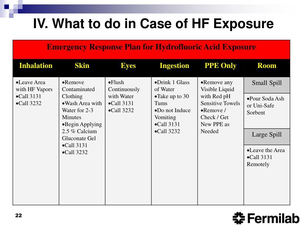 Ppt Hydrofluoric Acid Safety Powerpoint Presentation